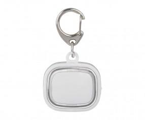 Schlüssellicht aufladbar REFLECTS-COLLECTION 500 mit Beschriftung weiß/transparent