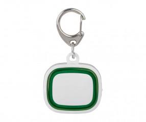 Schlüssellicht aufladbar REFLECTS-COLLECTION 500 Werbeartikel weiß/grün