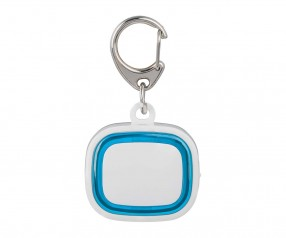 Schlüssellicht aufladbar REFLECTS-COLLECTION 500 Werbemittel weiß/hellblau