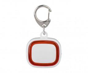 Schlüssellicht aufladbar REFLECTS-COLLECTION 500 mit Logo weiß/rot
