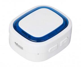Bluetooth®-Adapter REFLECTS-COLLECTION 500 mit Beschriftung weiß/blau