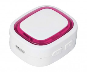 Bluetooth®-Adapter REFLECTS-COLLECTION 500 mit Logo weiß/magenta