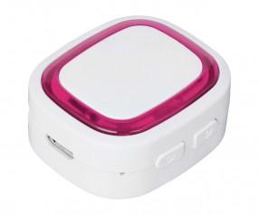 Bluetooth®-Adapter REFLECTS-COLLECTION 500 mit Logo weiß/magenta