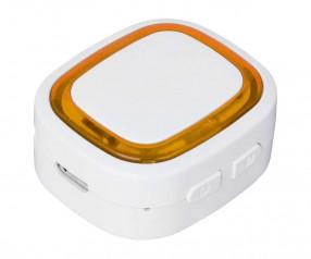 Bluetooth®-Adapter REFLECTS-COLLECTION 500 mit Werbeanbringung weiß/orange
