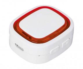 Bluetooth®-Adapter REFLECTS-COLLECTION 500 mit Beschriftung weiß/rot
