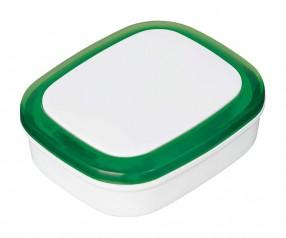 Magnet REFLECTS-COLLECTION 500 mit Werbeanbringung weiß/grün