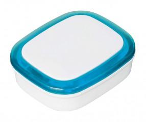 Magnet REFLECTS-COLLECTION 500 mit Beschriftung weiß/hellblau
