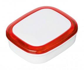 Magnet REFLECTS-COLLECTION 500 Werbepräsent weiß/rot