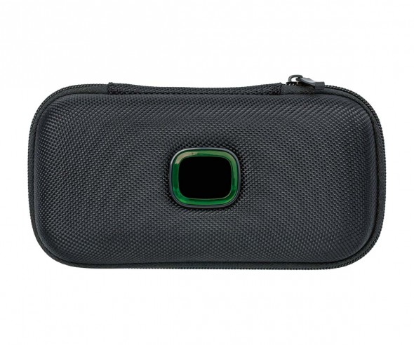 Reiseetui REFLECTS-COLLECTION 500 mit Werbeanbringung schwarz/grün