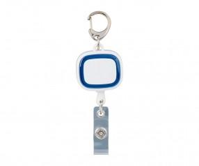 Jojo-Ausweishalter REFLECTS-COLLECTION 500 Werbemittel weiß/blau