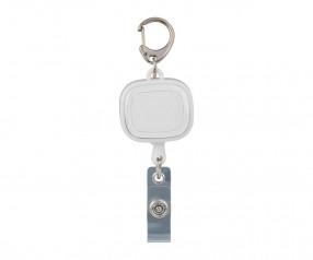 Jojo-Ausweishalter REFLECTS-COLLECTION 500 Werbepräsent weiß/transparent