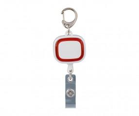 Jojo-Ausweishalter REFLECTS-COLLECTION 500 Werbemittel weiß/rot