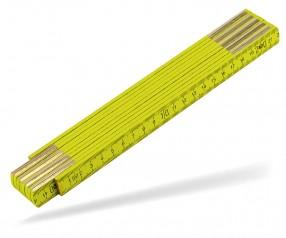 Reidinger Zollstock 2m Holz Standard 6110co gelb