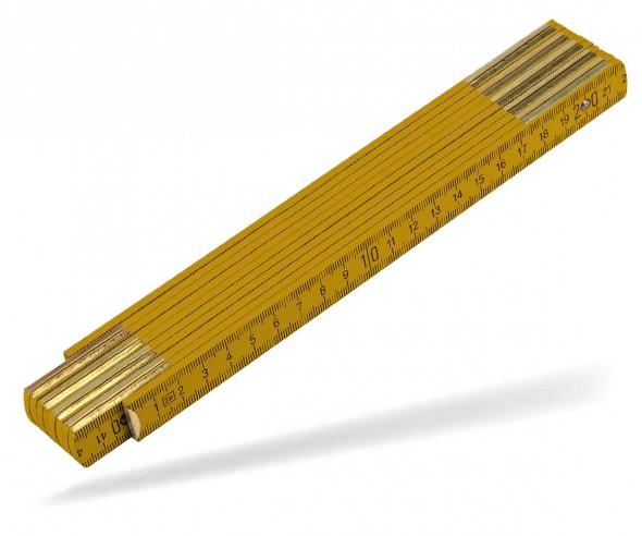 Reidinger Zollstock 2m Holz Standard 6110co orange