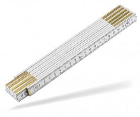 Reidinger Zollstock 2m Holz Standard 6110 weiss