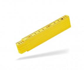 Reidinger Zollstock 1m Kunststoff 6170 gelb