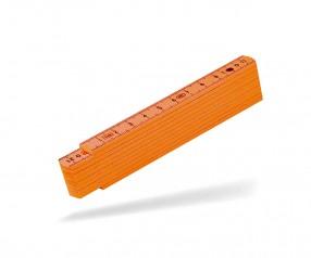 Reidinger Zollstock 1m Kunststoff 6170 orange