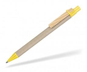 Papier Kugelschreiber Ritter Pen Carton 70250 0200 Zitronen-Gelb