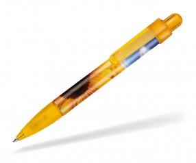 Ritter Pen Booster Transparent Foil Kugelschreiber 42773 3505 Mango-Gelb
