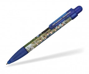Ritter Pen Booster Transparent Foil Kugelschreiber 42773 4303 Royal-Blau
