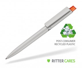Ritter Pen Crest Recycled Kugelschreiber 95900 1425 Grau recycled - 3547 Clementine