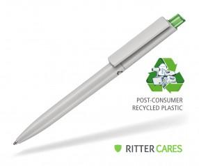 Ritter Pen Crest Recycled Kugelschreiber 95900 1425 Grau recycled - 4070 Gras-Grün