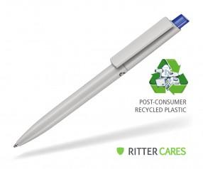 Ritter Pen Crest Recycled Kugelschreiber 95900 1425 Grau recycled - 4303 Royal-Blau