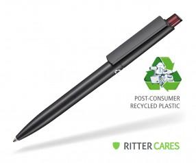 Ritter Pen Crest Recycled Kugelschreiber 95900 1525 Schwarz recycled 3630 Rubin-Rot