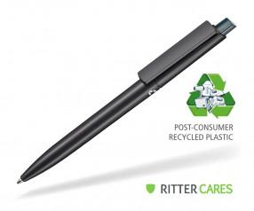 Ritter Pen Crest Recycled Kugelschreiber 95900 1525 Schwarz recycled 4044 Smaragd-Grün