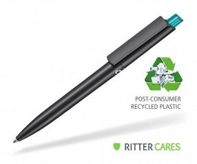 Ritter Pen Crest Recycled Kugelschreiber 95900 1525 Schwarz recycled 4127 Türkis