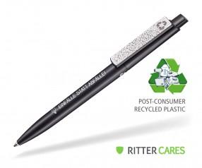 Ritter Pen Crest Recycled Kugelschreiber 95900 1525 Schwarz recycled