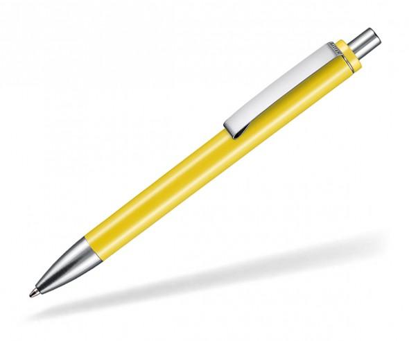 Ritter Pen Exos M Werbe Kugelschreiber 07602 0200 Zitronen-Gelb