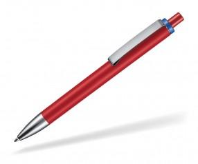 Ritter Pen Exos Soft Kugelschreiber 07601 0601 1300 Signal-Rot Azur-Blau
