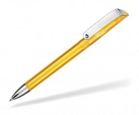 Ritter Pen Glossy Transparent 10086 Kugelschreiber 3229 Sonnenblumen-Gelb