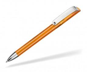 Ritter Pen Glossy Transparent 10086 Kugelschreiber 3521 Flamingo