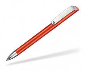 Ritter Pen Glossy Transparent 10086 Kugelschreiber 3609 Feuer-Rot