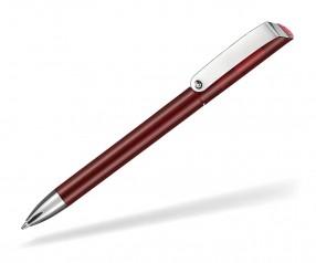 Ritter Pen Glossy Transparent 10086 Kugelschreiber 3630 Rubin-Rot