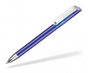 Ritter Pen Glossy Transparent 10086 Kugelschreiber 4303 Royal-Blau