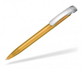 Ritter Pen Clear frozen silver 42000 3505 Mango-Gelb