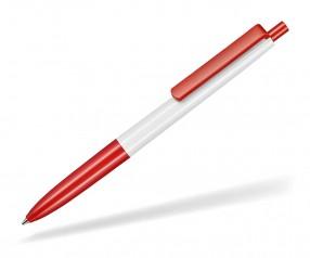 Ritter Pen New Basic 19300 Kugelschreiber 0101 Weiß 0601 Signal-Rot