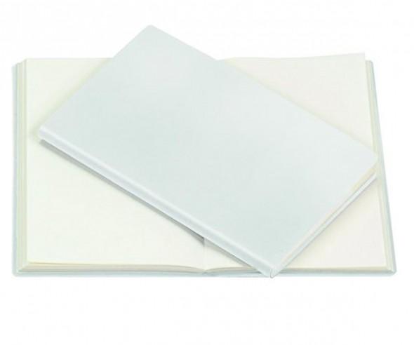 RITTER PEN Notizbuch Notebook Notizheft ca DIN A6 WEISS