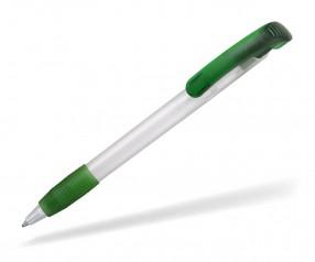 Ritter Pen Soft Clear Frozen 12100 Kugelschreiber 3100 Weiß 4031 Limonen-Grün
