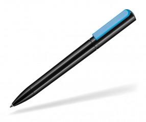 Ritter Pen Split NEON 00126 Kugelschreiber 1500 1390 Schwarz Neon-Blau