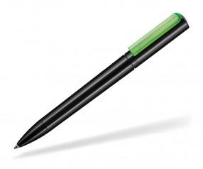 Ritter Pen Split NEON 00126 Kugelschreiber 1500 4090 Schwarz Neon-Grün transparent