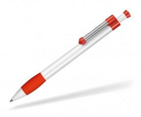 Ritter Pen Spring Grippy 08138 Kugelschreiber 0101 0601 Weiß Signal-Rot