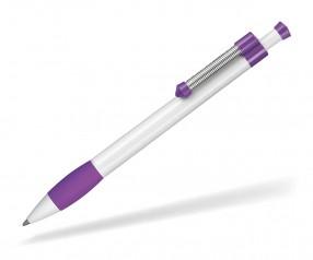 Ritter Pen Spring Grippy 08138 Kugelschreiber 0101 0903 Weiß Flieder