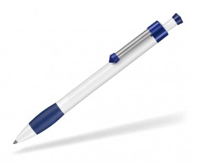 Ritter Pen Spring Grippy 08138 Kugelschreiber 0101 1302 Weiß Nacht-Blau