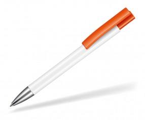 Ritter Pen Stratos Kugelschreiber 07900 0101 0501 Weiß Orange