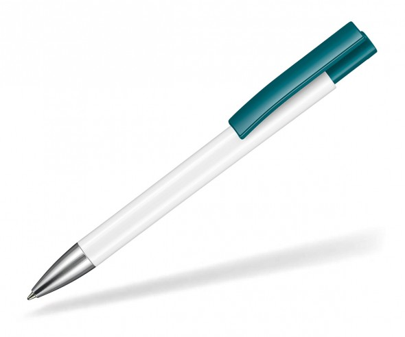 Ritter Pen Stratos Kugelschreiber 07900 0101 1101 Weiß Petrol