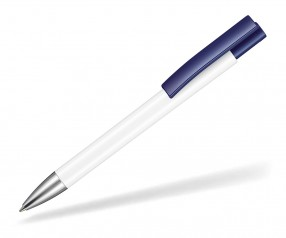 Ritter Pen Stratos Kugelschreiber 07900 0101 1300 Weiß Azur-Blau